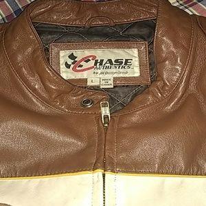 chase authentics by jh design Jackets & Coats - 88 Dale Jarrett leather jacket